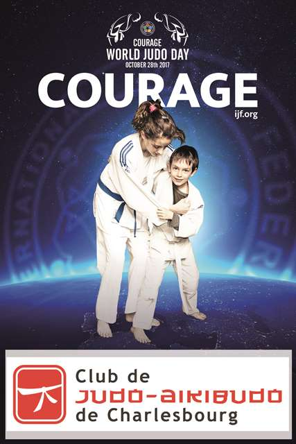 Club de judo - courage - world judo day